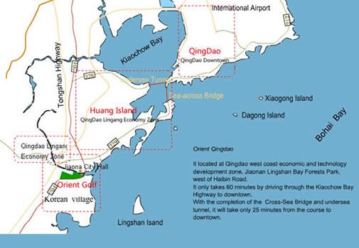 QingDaomap